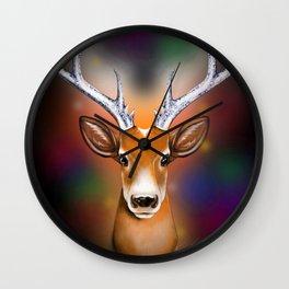 Christmas Woodland Beast Wall Clock