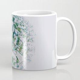 Fish Eye World View (Color) Coffee Mug