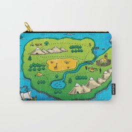Old pirate's map Carry-All Pouch