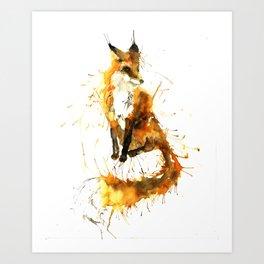 Bushy Tailed Art Print