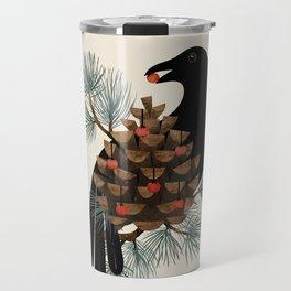 Bird & Berries Travel Mug