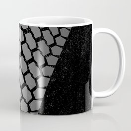 Grunge Skid Mark Coffee Mug