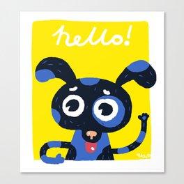 Hello! Canvas Print