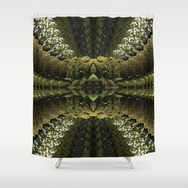 Tripping through the Woods Shower Curtain