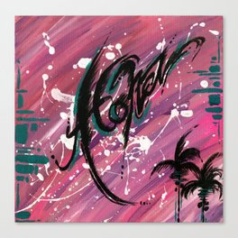 """ALOHA"" Canvas Print"