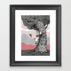 my new best friend Framed Art Print
