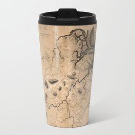 Map of Ipswich 1832 Travel Mug
