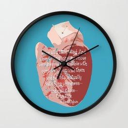 Weird Love Wall Clock