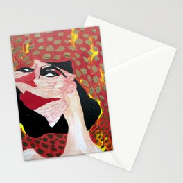 Woman of Fire Stationery Cards