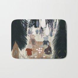 teddy bear picnic Bath Mat