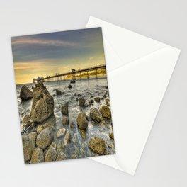 A Rocky Sunset Stationery Cards