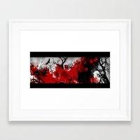 revolution Framed Art Prints featuring Revolution by angela Lauren