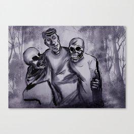 Best Buds! Canvas Print