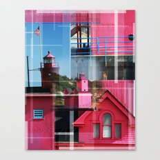 Lighthouse at Holland Park MI Canvas Print