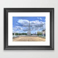 Millennium Plaza, Waterford City Framed Art Print