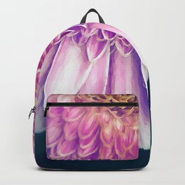 Painted Gerber Daisy Backpack
