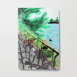 Rhein Bike Metal Print