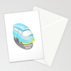 Holiday Mode Camper Van Stationery Cards