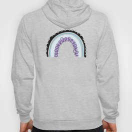 asexual rainbow design Hoody