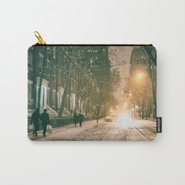 Winter - New York City - Snows Falls - Washington Square Carry-All Pouch