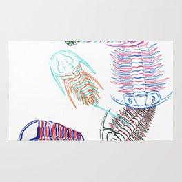 Cambrian Era Trilobites Rug
