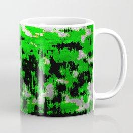 Neon Fractures Coffee Mug