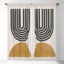 Mid Century Modern Blackout Curtain