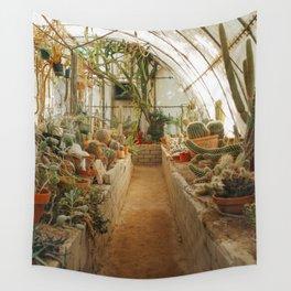 Cactus Botanical Garden Wall Tapestry