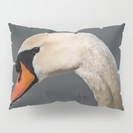 Mute Swan in Winter Pillow Sham