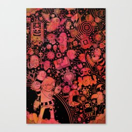 Son of Dooome (red) Canvas Print