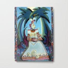 Bird Goddess #2/3 Metal Print