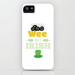 Funny Leprechaun Happy St Patricks Day  iPhone Case