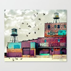 Factory #1 Canvas Print