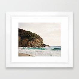 Strands Beach, Dana Point Framed Art Print