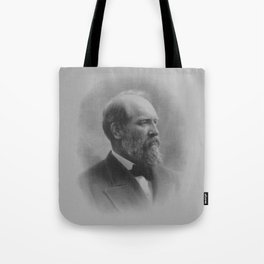 President James Garfield Tote Bag