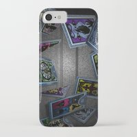persona iPhone & iPod Cases featuring Persona Tarot Cards by KeenaKorn
