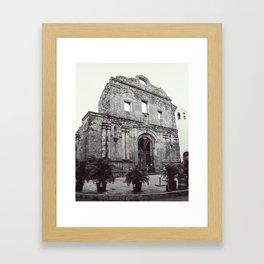 Santo Domingo Framed Art Print