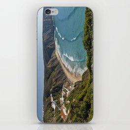 Arrifana surfing beach, Portugal iPhone Skin
