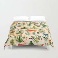 garden Duvet Covers featuring Garden by AITCH