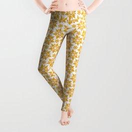 Spring Floral Pattern Leggings