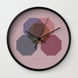 Rose Eight Wall Clock