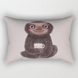 Sloth I♥yoga Rectangular Pillow