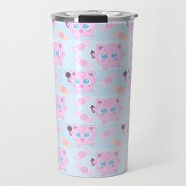 Jigglypuff pattern Travel Mug
