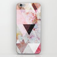 rose iPhone & iPod Skins featuring Graphic 3 by Mareike Böhmer
