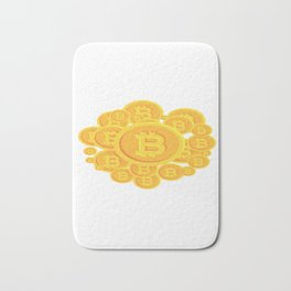 Bitcoins Bath Mat