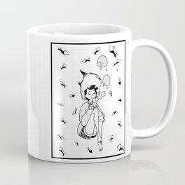 Drowning Girl Coffee Mug