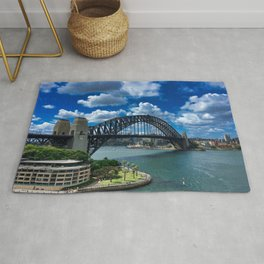 Sydney Harbour Bridge Rug