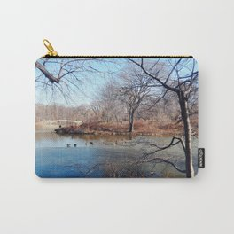 Winter in Central Park, NYC Carry-All Pouch