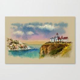 The Island Of Kefalonia, Greece Canvas Print