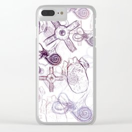 Internal Organs Clear iPhone Case